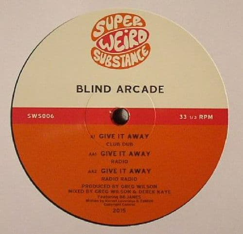 """Blind Arcade<br>Give It Away<br>12"""""""